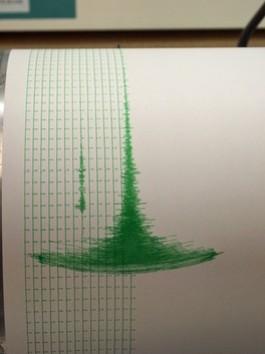 Ecco come il sismografo ha registrato il terremoto del 23 agosto 2011
