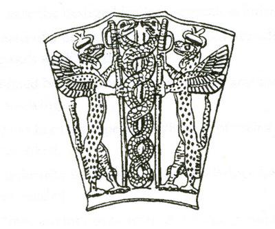 Due serpenti intrecciati: l'antica rappresentazione del Dna?