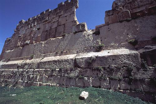 Le rovine di Baalbek, in Libano