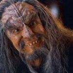 Un Klingoniano immaginato nel film Star Trek