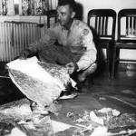 I rottami dell'UFO precipitato a Roswell il 2 luglio 1947