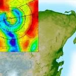 L'enorme depressione nello Yucatan provocata da un asteroide