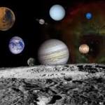 Una rappresentazione del Sistema Solare