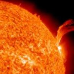 Un'eruzione solare