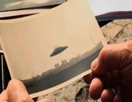 """LA FOTO DI UN UFO SCATTATA ALL'EPOCA DEL """"CASO AMICIZIA"""""""