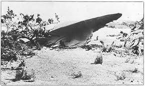 UN'ELABORAZIONE FOTOGRAFICA DELL'UFO CADUTO A ROSWELL...