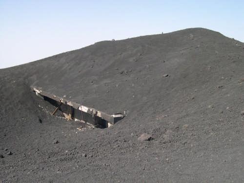 Monte cenere extremamente for Cenere vulcanica
