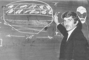 ALAN GODFREY DISEGNA L'UFO CHE DICE DI AVER VISTO