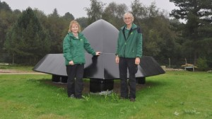 IL MONUMENTO ALL'UFO DI RENDLESHAM FOREST