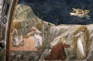 GESÙ APPARE A MARIA DI MAGDALA (GIOTTO, XIV SECOLO)