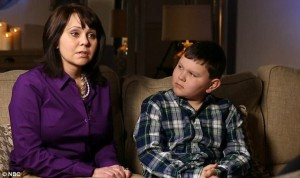 IL PICCOLO RYAN E LA MAMMA INTERVISTATI DALLA NBC NEWS
