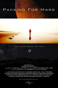 "LA LOCANDINA DEL FILM ""PACKING FOR MARS"""