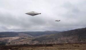 LA RICOSTRUZIONE GRAFICA DELL'UFO DI CALVINE