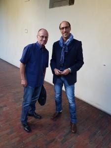 MAURO BIGLINO ACCANTO A PIETRO BUFFA