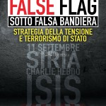 "LA COPERTINA DEL LIBRO ""FALSE FLAG- SOTTO FALSA BANDIERA"""