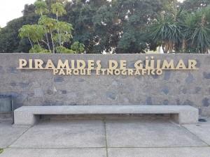 L'INGRESSO DEL PARCO ETNOGRAFICO DI GÜIMAR