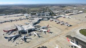 UN'IMMAGINE DELL'AEROPORTO DI MELBOURNE