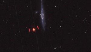 L'OGGETTO FOTOGRAFATO DA UN ASTRONOMO DILETTANTE