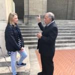 ROBERT SALAS E SABRINA PIERAGOSTINI A SAN MARINO
