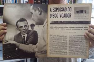UN GIORNALE BRASILIANO RACCONTAVA LA NOTIZIA DEL DISCO VOLANTE