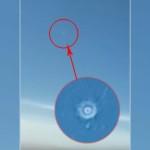 UN INGRANDIMENTO DELL'UFO RIPRESO DAL PILOTA DELLA TURKEY AIRLINES