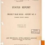 UNO DEI FASCICOLI DEL PROJCET BLUE BOOK