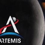 IL LOGO DELLA MISSIONE ARTEMIS DELLA NASA