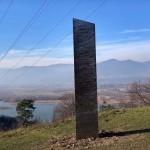 LA BARRA DI METALLO APPARSA IN ROMANIA
