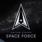 IL LOGO DELLA SPACE FORCE STATUNITENSE