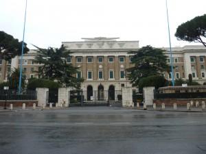 LA SEDE DELLO STATO MAGGIORE DELL'AERONAUTICA ITALIANA